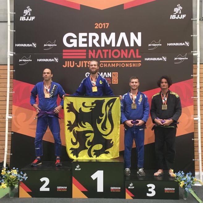 BJJ: Bronze beim German National Championship in Berlin